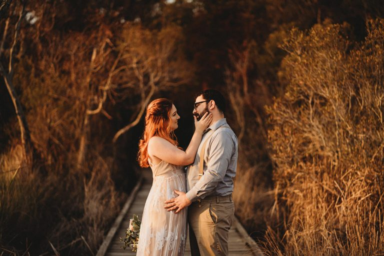 Fontainebleau State Park Elopement Taken by New Orleans Elopement Photographer