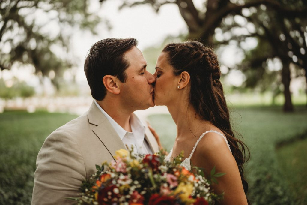 SELU Elopement for Alumni Couple with New Orleans Elopement Photographer
